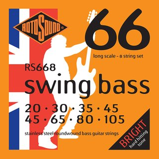 Rotosound Swing Bass Strings RS668