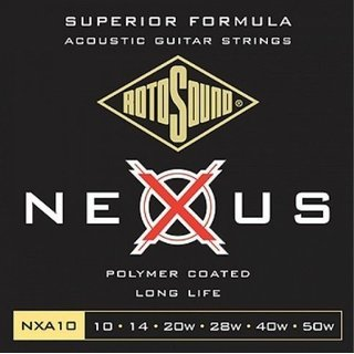 Rotosound NXA10 coated Western Strings