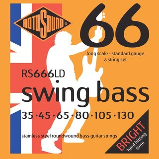 Rotosound Swing Bass Strings RS666LD