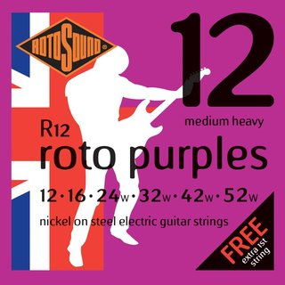 Rotosound E-Guitar Strings R12