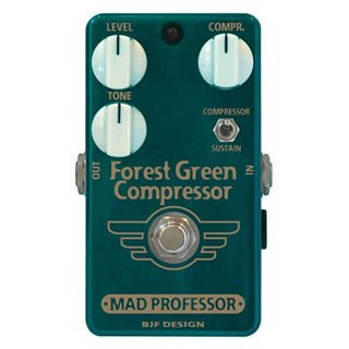 Mad Professor Guitar Pedal EFX- Forest Green Compressor handwired
