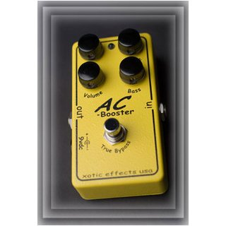 XOTIC  AC Booster - Guitar Effects Pedal