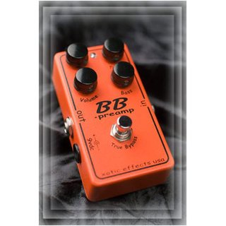 XOTIC  BB Preamp - Guitar Effects Pedal