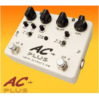 XOTIC  AC + Plus Overdrive Pedal