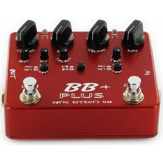 XOTIC  BB Plus Preamp Overdrive