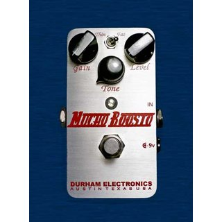 Durham Electronics -  MUCHO BOOSTO - Overdrive Boost Pedal