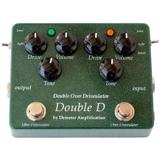Demeter Pro Pedals -  DD-1 Double Overdrive - Guitar FX