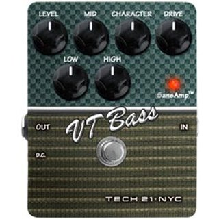 TECH 21 SANSAMP Charakter VT Bass V2