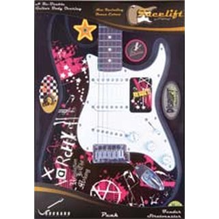 STRAT GUITAR FACELIFT PUNK