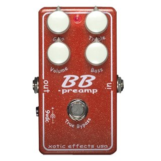 XOTIC  BB - LTD10 PREAMP !