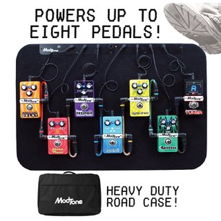 Modtone Effects - MT-PB8, Modtone Powered pedal board