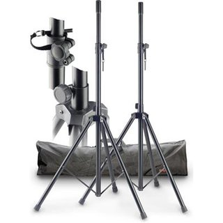 STAGG SPS-0820 BK SET Set of 2 black speaker stands