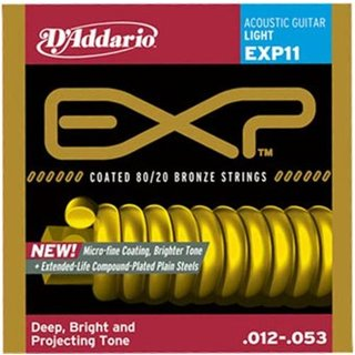 DAddario EXP11 Bronze-Saitensatz Light .012 - .053