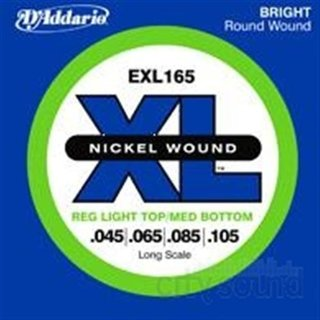 DAddario Bass Nickel Roundwound EXL165 Long Scale