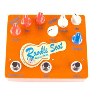 Analog Alien Rumble Seat OverDrive/Delay/Reverb Pedal