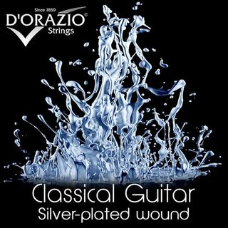 DOrazio Strings 642 Classic Guitar Silverplated/Crystal Nylon