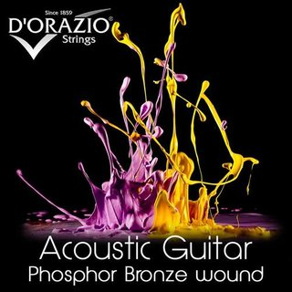 DOrazio Strings 27 Acc.Guitar 12String 80/20 Round Wound 009-046