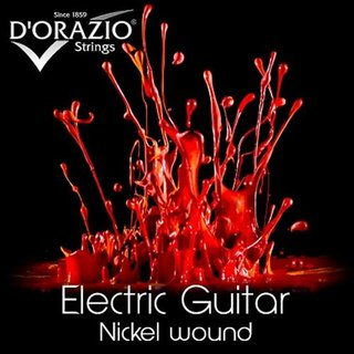 DOrazio Strings set 37 Electric Guitar Nickel round wound 011 - 050