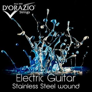 DOrazio Strings X34 Electric Guitar Stainless Steel R.W. 011-049