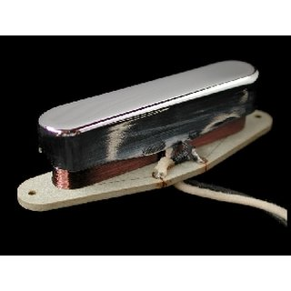 Nordstrand Pickups NVT A3 Bridge, Early blackguard style Tele replacement PU, Vintage style w/ Alnico III magnet, black