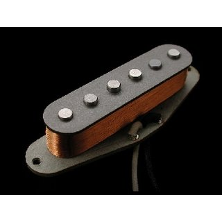 Nordstrand Pickups nvs-hot bridge ST-style guitar replacement single coil, Hot wind, black