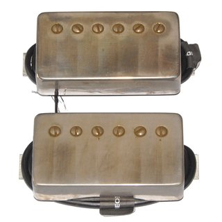Bare Knuckle Pickups Stormy Monday humbucker Set Aged Nickel