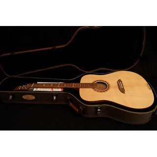 Riversong Guitars Tradition CANADIAN ARTIST Dreadnought w. solid flamespruce