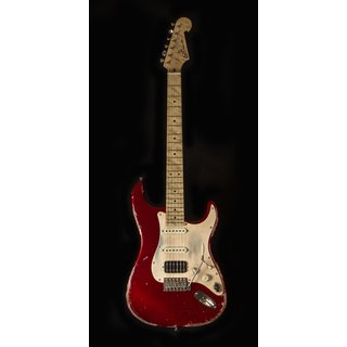 Luxxtone Guitars Choppa S - Candy Apple Red dark