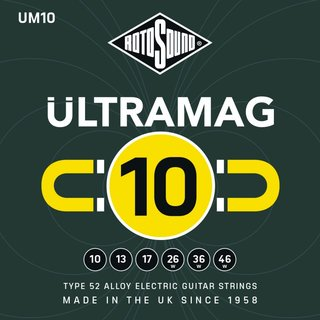 Rotosound UM10 Ultramag 10-46 Alloy 52 Electric Guitar Strings