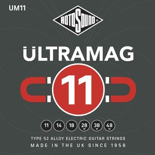 Rotosound UM11 Ultramag 11-48 Alloy 52 Electric Guitar Strings